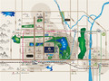 中丞·明湖原著交通图