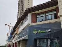 紫龙府 绝版纯一楼沿街门面 挑高5米 门宽5米