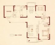 B1户型-两房两厅两卫+空中花园