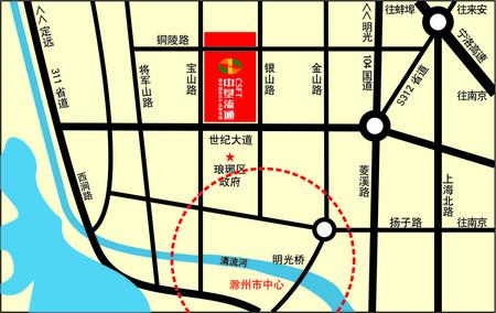 琅琊新区 中垦国际领域复试4.8米挑高 一层价格二层享受 敞亮通透总价23万