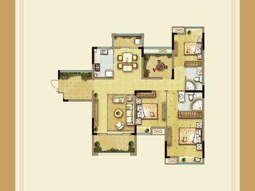 小高层三房两厅两卫