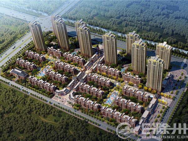 城南市政府旁 北京城建珑熙庄园 黄金楼层 前排是洋房 户型南北通透四室 看房方便