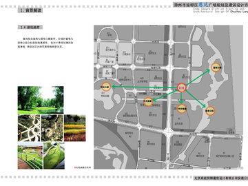 恩达广场-景观通廊图