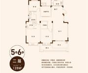 5栋6栋D2-128m²