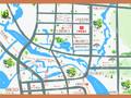 珠江·翰林雅院交通图