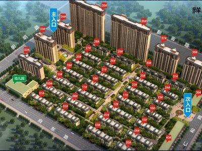 祥生东方樾 有电梯 23楼 126平米 900元 毛坯 有钥匙