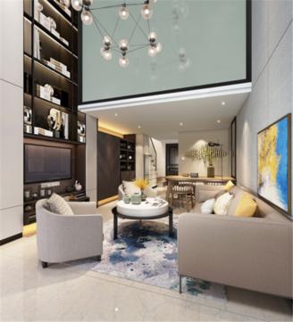 星荟城复式公寓高铁站 轻轨站 4.8米挑高 自住投资好去处