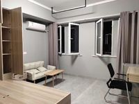 出租环滁单身公寓,13楼一室一厅,40平米精装全配拎包即住包物业1400元/月