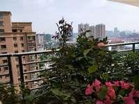 天安都市花園,送大露臺加陽臺,精裝全配,南北通透,拎包入住,環境優美