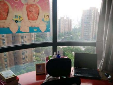 金域豪庭94平精装全配拎包入住两房朝南客厅通阳台有证无税旁边就是新滨河九年制学校