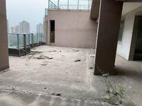 文昌花园 顶楼复式 超大平台 可以做成空中花园 实用面积170