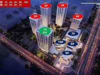 康佳科创云谷 挑高4.8米公寓 园区自带6万方商业 高铁站北边 轻轨站口