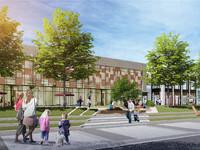 明湖中学附近首付十几万买一层送一层高铁站对面轻轨口交汇处高档公寓