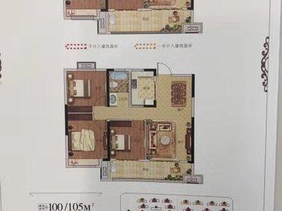 金城學府、國譽學府、榮盛錦繡觀邸附近 正規三室、戶型超好 靠近大明湖、新一中