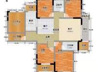 出售高速东方天地4室2厅2卫145平米131.8万住宅