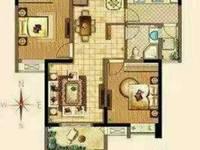 出售泰鑫城市星座2室2厅89平米_3号楼户型好_阳光足