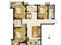 阳光都市 平层2室2厅2卫包物业