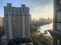 市中心 南湖一号 御湖华庭南北双阳台 三室纯毛坯 湖畔景观房