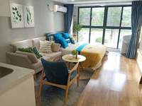 星荟城高端公寓办公楼轻轨首发站大名湖一中旁LOFO复式公寓可分2层出租