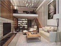 锦程公馆 全新精装 复式公寓 朝南 比售楼部便宜 看中价格能谈