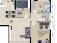 东菱城市114平米3房75万毛坯随时看房