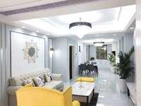 五中琅琊路小学 御天下北苑1楼110平米3室2厅豪装全配有院子115.8万