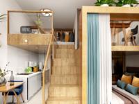 出售汇鑫大成国际复式公寓2室1厅1卫住宅