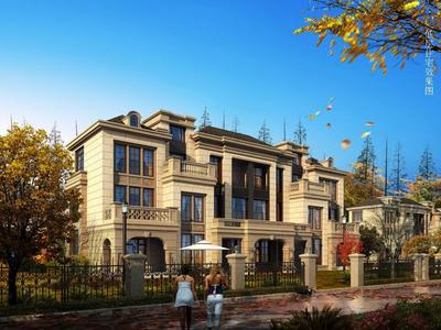 南谯新区政府 低于售楼处10几万 高速公园一号别墅 双公园环境优美 8200一平