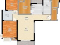 发能国际城3室2厅1卫115平米92.8万住宅 不沿街