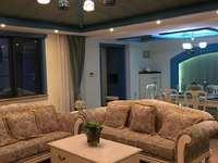 阳光地中海豪装一楼带地下室 带院子 豪华装修 家具全丢 换别墅 亏本卖