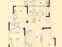 高速东方天地洋房!洋房!满五唯一纯毛坯 3室2厅1卫124平米122.8万住宅
