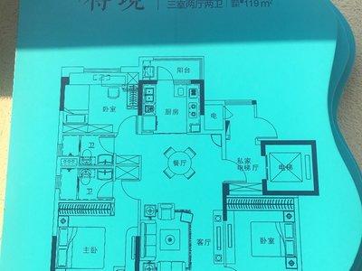 碧桂园奥能 罗马世纪城3室2厅2卫119平米50万住宅