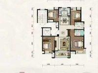 戶型好,楼层好,学区好!金鹏 珑玺台4室2厅2卫135平米119万住宅