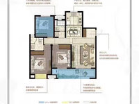急售 弘阳时光澜庭 板楼 一梯两户 户型完美