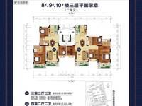 出售恒大江北帝景4室2厅2卫136.18平米86万住宅