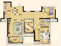 凯迪 塞纳河畔3室2厅1卫94平米77.8万住宅