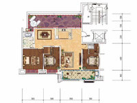 和顺 沁园春 洋房顶楼复试 户型完美 大露台