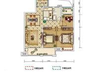 弘阳时光澜庭 三室两厅 永乐小学和东坡中学 毛坯房