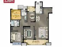 出售滁州苏宁悦城3室2厅2卫110平米86万住宅