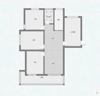宇业京华园南苑3室2厅1卫115平米75.6万住宅