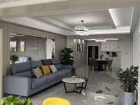 五中学区 豪华装修家电全配 160平 广场家园 正规4室 看房方便 价格好谈
