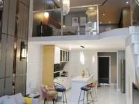 世纪花园附近的中肯公寓42平米复式公寓一托二实际84平米特价22万