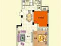 直接改名 天逸华庭洋房2室2厅1卫87平米90万住宅