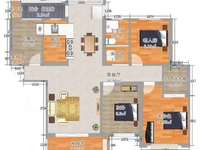尚城国际 四室两厅 三开间朝南 直接改名二实验小学 紫金广场 有钥匙