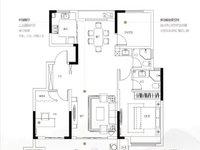 洋房没有公摊面积!出售山河悦4室2厅2卫120平米97万住宅