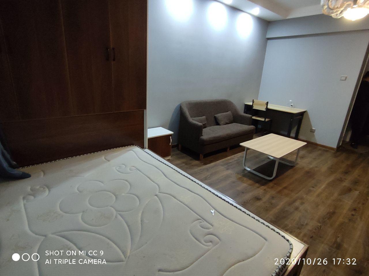 出租胜锦尚城国际1室1厅1卫45平米1300元/月住宅