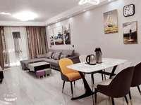 金城华府,3室2厅,全新精装,黄金楼层,双学区