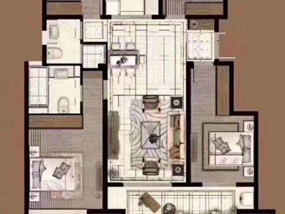轻轨站,吾悦广场 弘阳 时光澜庭4室2厅2卫118平米113.8万住宅