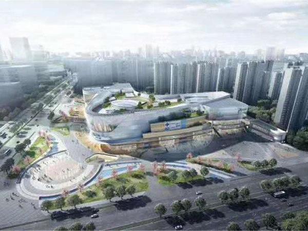 房企50强苏宁悦城城南中央自带苏宁商场滁南一中和四小