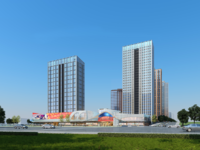 七彩世界推出复试公寓4.8跳高可以隔成两层 好出租 买一层送一层拥有4个学区